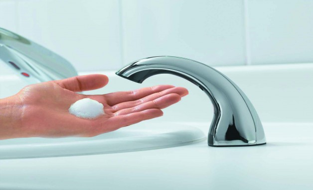 GOJO Launches New Counter Mount Soap Dispenser