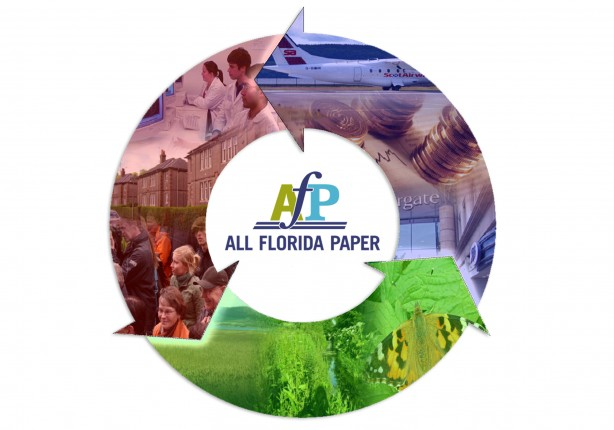 All Florida Paper Does Their Part to Create a Better, Cleaner and More Sustainable Future for Tomorrow's Generation