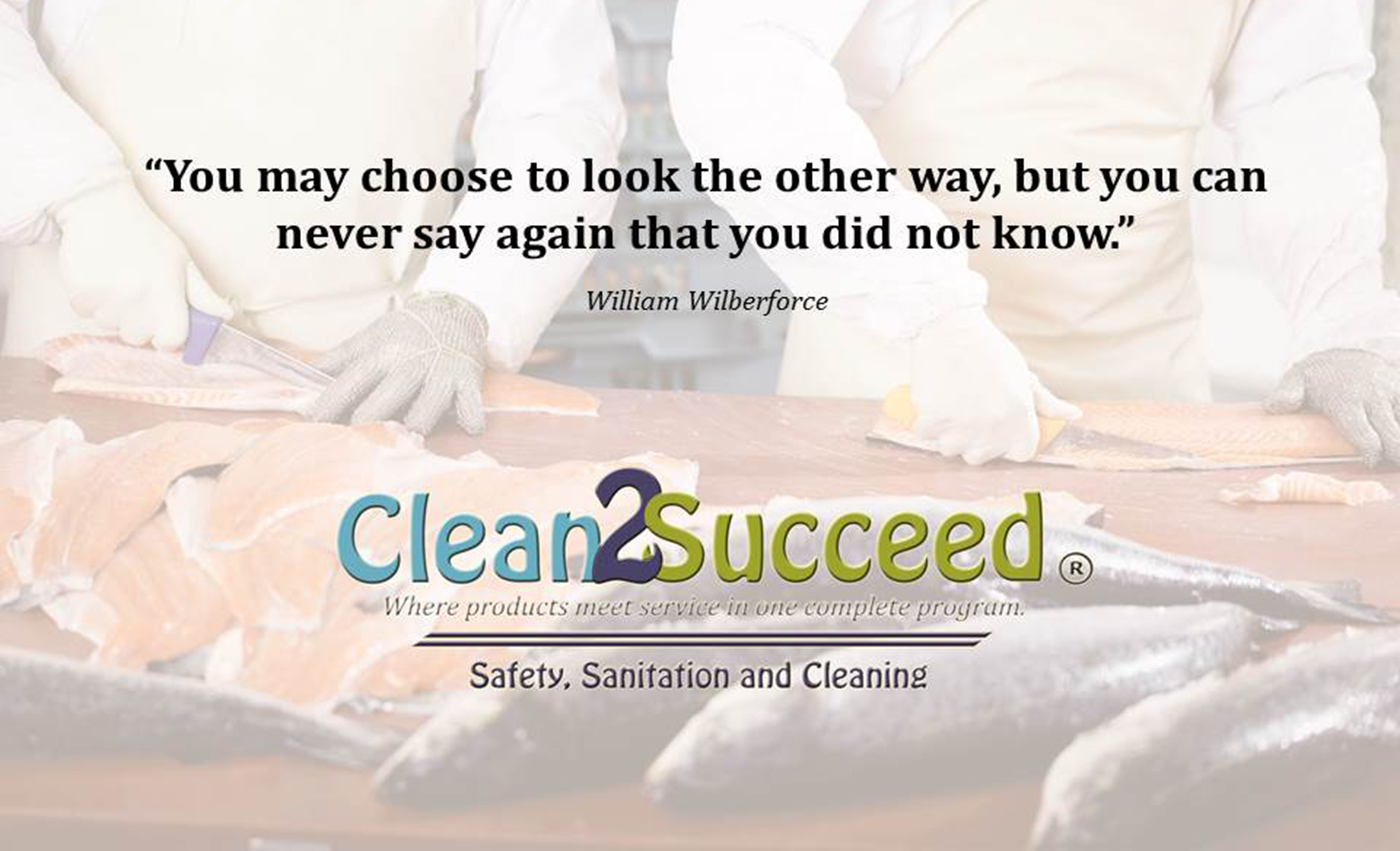 food service sanitation Cross-contamination is often a concern during the food safety process train your employees to correctly use our cleaning and sanitation.
