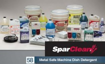 Spartan Introduces Metal Safe Machine Dish Detergent