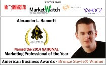Bronze Stevie® Winner at 2014 American Business Awards