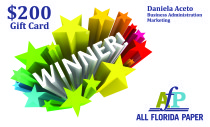 FIU Career Fair Gift Card Winner Announced