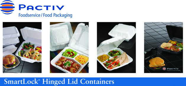 Now Offering SmartLock® Hinged Lid Containers